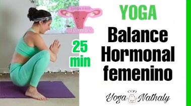 HORMONAS FEMENINAS 💗 como balancear sistema endocrino - Yoga con Nathaly