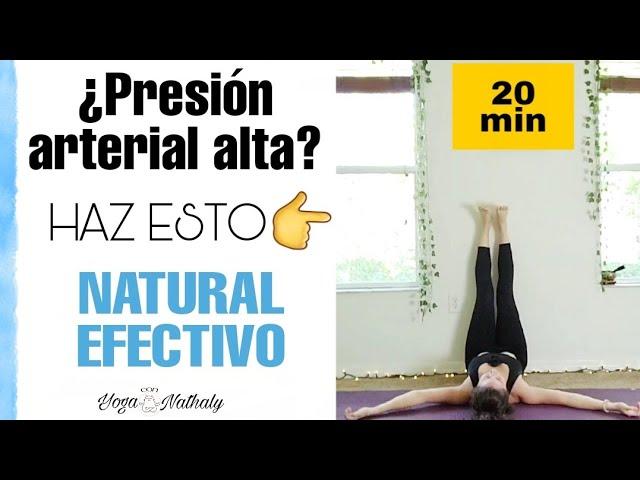 Como BAJAR la presion ALTA de forma NATURAL Y EFECTIVA ✅- Yoga para hipertension