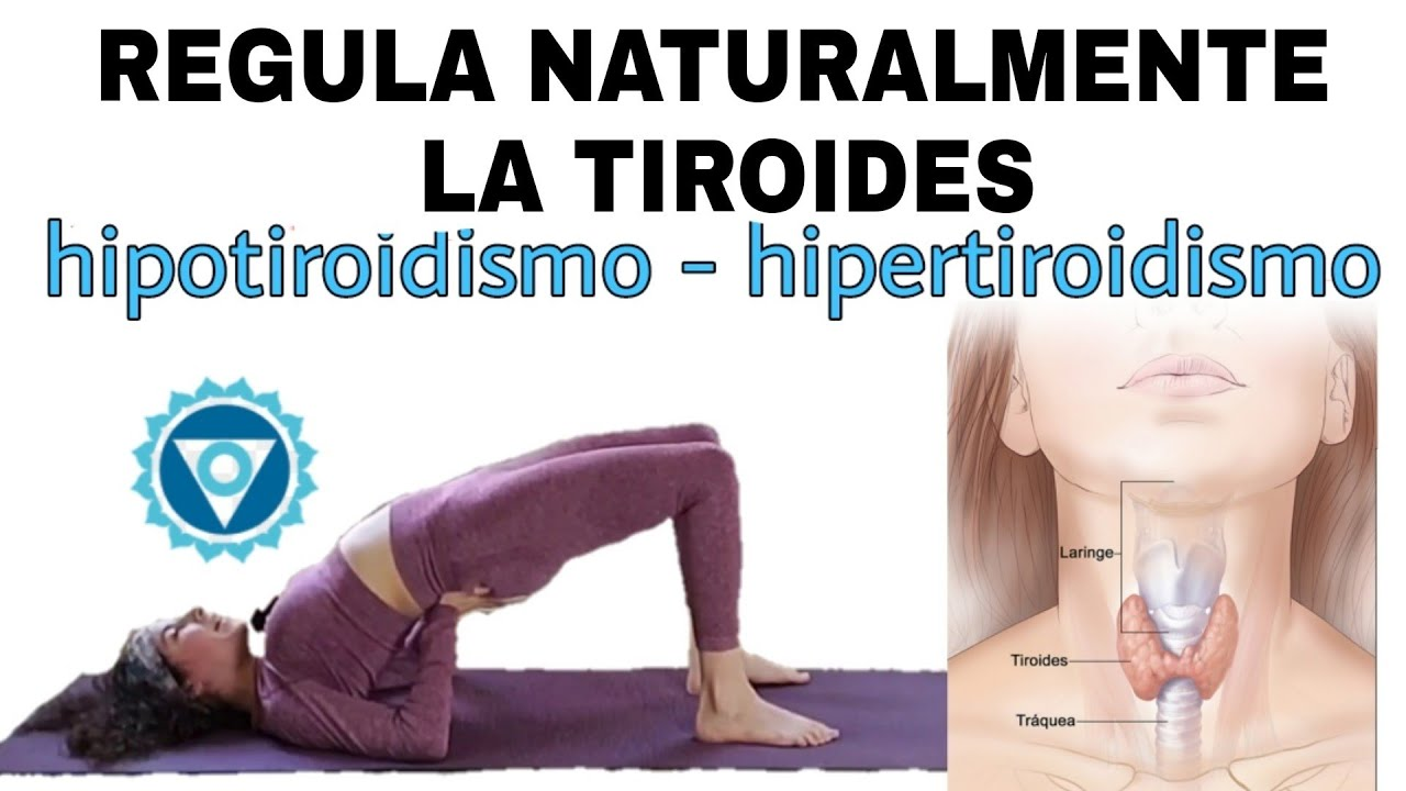 HIPOTIROIDISMO e HIPERTIROIDISMO ❤ Yoga TERAPIA para MEJORAR y REGULAR la tiroides